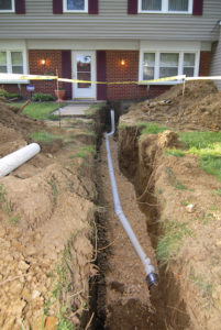 Water Line Replacement in Columbia